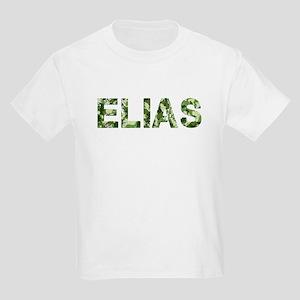 Elias, Vintage Camo, Kids Light T-Shirt