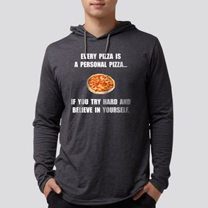 Personal Pizza Mens Hooded Shirt