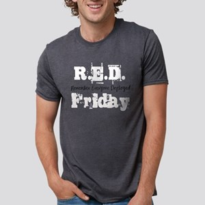 Red Friday Mens Tri-blend T-Shirt