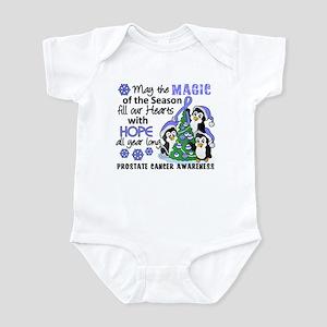 Holiday Penguins Prostate Cancer Infant Bodysuit
