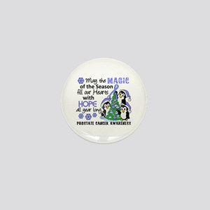 Holiday Penguins Prostate Cancer Mini Button