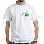 Holiday Penguins PKD White T-Shirt