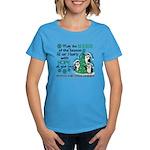 Holiday Penguins PKD Women's Dark T-Shirt
