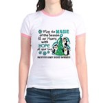 Holiday Penguins PKD Jr. Ringer T-Shirt