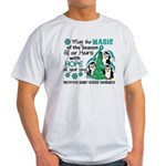 Holiday Penguins PKD Light T-Shirt