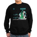 Holiday Penguins PKD Sweatshirt (dark)