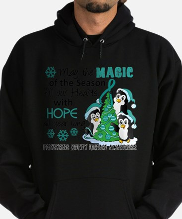 Holiday Penguins PKD Hoodie (dark)