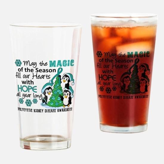 Holiday Penguins PKD Drinking Glass