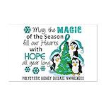 Holiday Penguins PKD Mini Poster Print