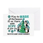 Holiday Penguins PKD Greeting Cards (Pk of 20)