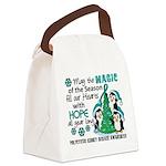 Holiday Penguins PKD Canvas Lunch Bag