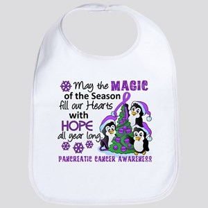 Holiday Penguins Pancreatic Cancer Bib