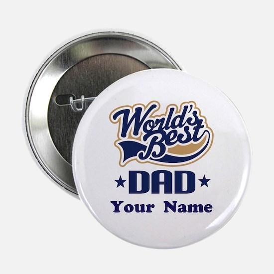 """DAD (WORLDS BEST) 2.25"""" Button"""