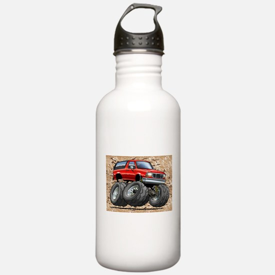 95_Red_Bronco.png Water Bottle