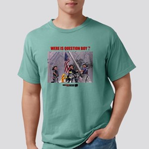 QUESTION BOY911 Mens Comfort Colors Shirt