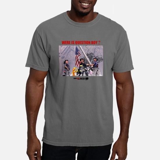 QUESTION BOY911.png Mens Comfort Colors Shirt