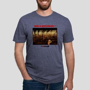 QUESTION BOYPOLUTION Mens Tri-blend T-Shirt
