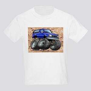 95_Blue_Bronco Kids Light T-Shirt