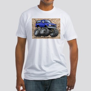 95_Blue_Bronco Fitted T-Shirt