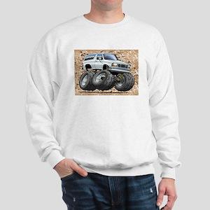 95_White_Bronco Sweatshirt