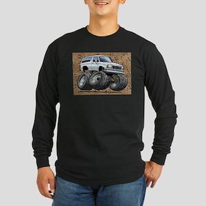 95_White_Bronco Long Sleeve Dark T-Shirt