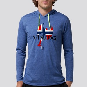 Norway Viking Mens Hooded Shirt