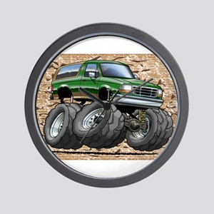 95_Green_EB_Bronco Wall Clock