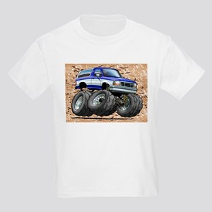 95_Blue_W_Bronco Kids Light T-Shirt