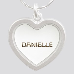 Danielle Circuit Silver Heart Necklace