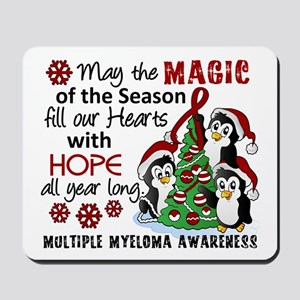 Holiday Penguins Multiple Myeloma Mousepad
