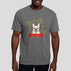 French Bulldog Christmas Mens Comfort Colors Shirt