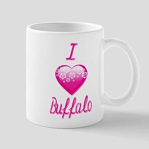 I Love/Heart Buffalo Mug