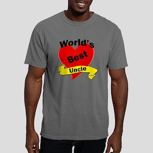 Worlds Best Uncle Mens Comfort Colors Shirt