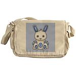 Kawaii Blue Bunny Messenger Bag