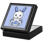 Kawaii Blue Bunny Keepsake Box