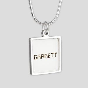 Garrett Circuit Silver Square Necklace