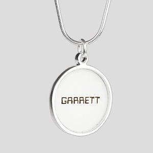 Garrett Circuit Silver Round Necklace