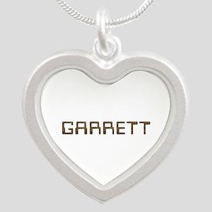 Garrett Circuit Silver Heart Necklace
