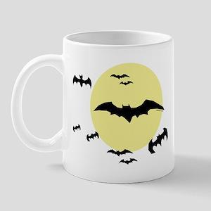 Bats with moon Mug