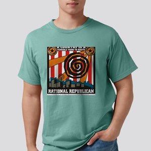 Rational Republican Mens Comfort Colors Shirt