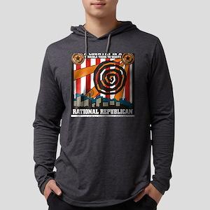 Rational Republican Mens Hooded Shirt