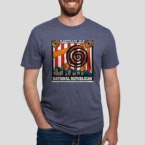 Rational Republican Mens Tri-blend T-Shirt