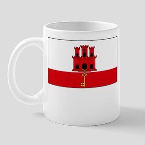 Gibraltar Flag Picture Mug