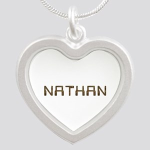 Nathan Circuit Silver Heart Necklace