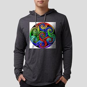 CelticWaves Mens Hooded Shirt