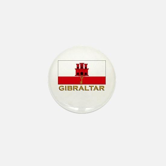 Gibraltar Flag Stuff Mini Button