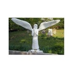 Cemetery Angel Rectangle Magnet