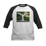 Cemetery Angel Kids Baseball Jersey