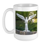 Cemetery Angel Large Mug