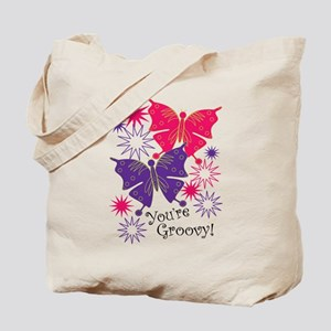 Youre Groovy Tote Bag